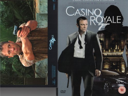 Casino Royale (2006) 2 disc collector's edition with 9 art carts.
