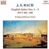 Bach: English Suites Nos. 1-3