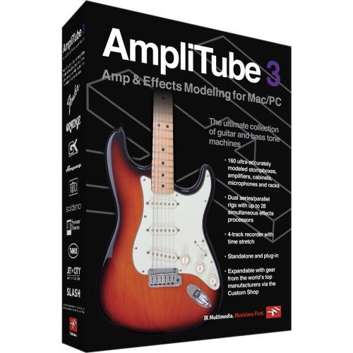 ik multimedia amplitube 3 guitar and bass amp and effects modeling software best cheap software. Black Bedroom Furniture Sets. Home Design Ideas