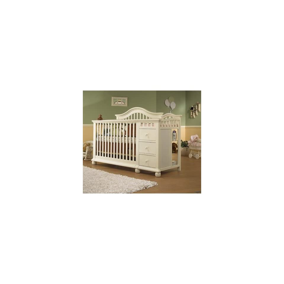 Sorelle 1090 Fw Vista Cape Cod 4 In 1 Convertible Crib N Changer