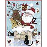 Advent Calendar - Delivering presentsby Caspari
