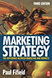 Marketing strategy:the difference between marketing and markets