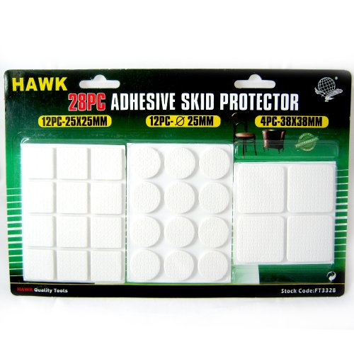 28 Anti Skid Furniture Protection Pads Rubber Self Adhesive Scratch Protector !! front-353383