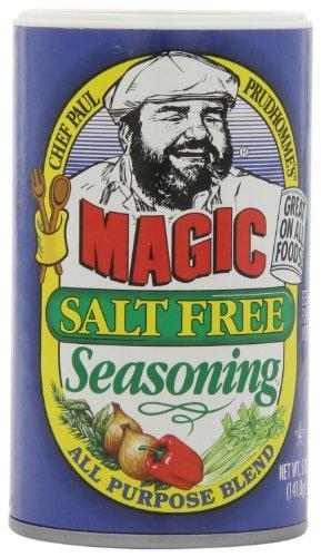 Magic Seasoning Blends Magic Salt Free Seasoning, 5-Ounce Containers (Pack of 6)