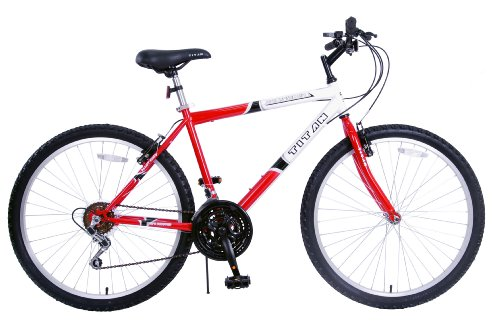 TITAN Pathfinder Men's 18-Speed All-Terrain Mountain Bike - 26