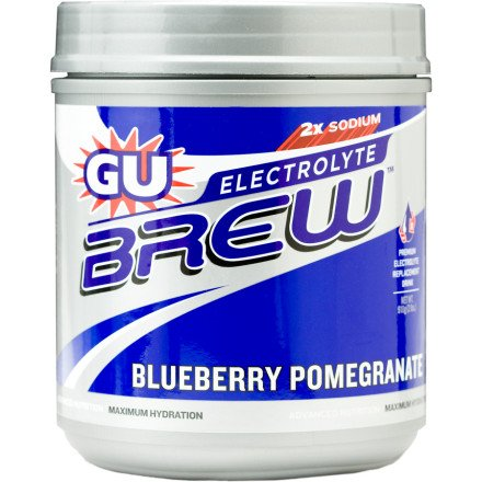 GU Electrolyte Brew Can Blueberry Pomegranate