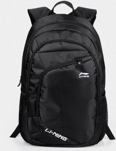 Chinese Best Famous Sports Brand Li-Ning Laptops Backpack Computer Notebook Tablet,Knapsack,Rucksack Swiss Gear Army Knife Bag Comfortable Back Panel Ergonomic Shoulder Straps For Man Woman Travelling,Camping,Hiking, School Waterproof (Jb002 Black)