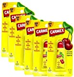 Carmex Lip Balm Tube Cherry 10gm-PACK OF 6