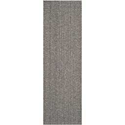 Safavieh Natural Fiber Collection NF447G Hand Woven Light Grey Jute Runner, 2 feet 6 inches by 6 feet (2\'6\