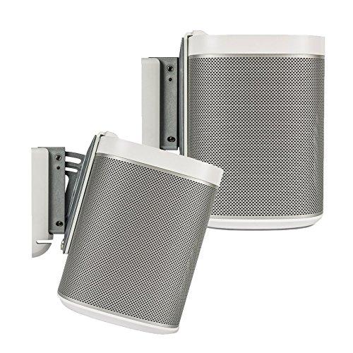 Flexson Wall Bracket for PLAY:1 SONOS Speakers - WHITE - PAIR (Flexson Wall Bracket compare prices)