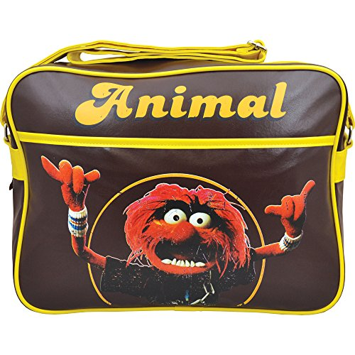 Disney Muppets Animal bag in retro brown and yellow colours. Great gift idea