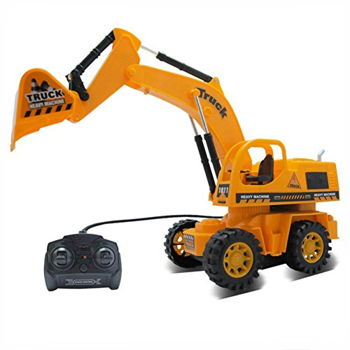 Usstore 1PC Kid baby Children Remote Control Car Toy Car Truck Excavator Cable Remote Control Car Toys (Remote Control 18 Wheeler compare prices)
