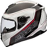 Shox Assault Tracer Integral Motorrad Helm L...