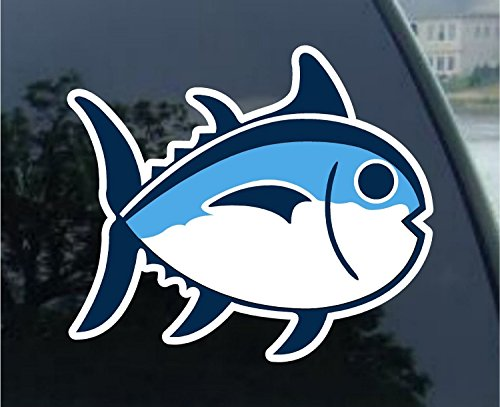 Southern Tide Fish Vinyl Sticker Decal 4