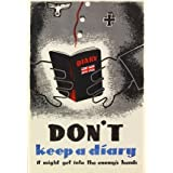 Don't Keep a Diary (Print On Demand)