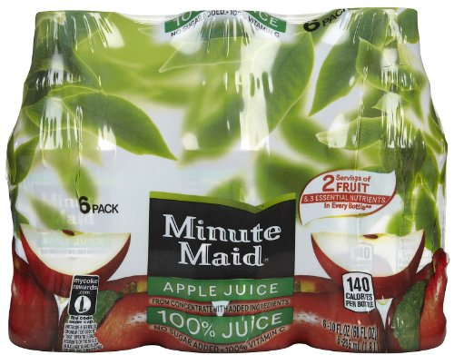 Minute Maid Apple Juice To-Go - 10 oz - 6 ct (Minute Maid Juices compare prices)