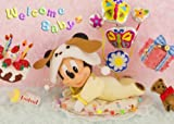 Disney Amazing 3D Greeting Card Postcard - Welcome Baby Greeting Card -