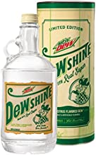 Mountain Dew DEWshine, 25 Fl Oz, Limited Edition Collectible Glass Jug