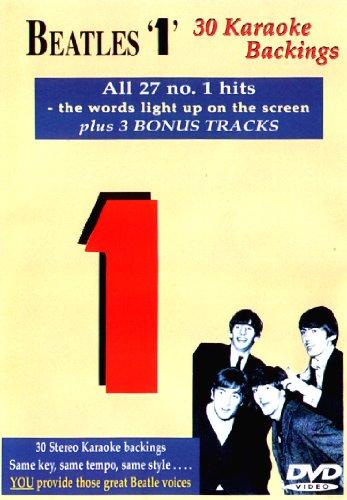 Beatles 1 -30, Karaoke Backings [DVD]