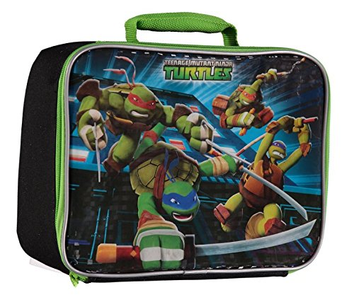 Nickelodeon Teenage Mutant Ninja Turtles TMNT 3D Design Insulated Lunch Bag (Ninja Turtles Leonardo Katana compare prices)