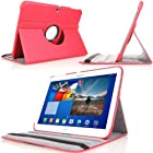 MoKo 360 Degree Rotating Cover Case for Samsung Galaxy Tab 3 10.1 inch GT-P5200 / GT-P5210 Android Tablet