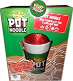 Pot Noodle Milk Chocolate Easter Egg With Ceramic Mug & LOVE POT NOODLE BADGE