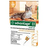 Cat Supplies Advantage Ii Orange Cat Small 4Pk