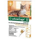 Cat Supplies Advantage Ii Orange Cat Small 4Pk