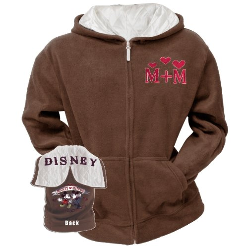 Mickey Mouse - Mickey & Minnie Women's Zip Hoodie