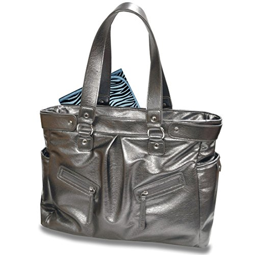 Baby Essential Silver Messenger Bag - 1