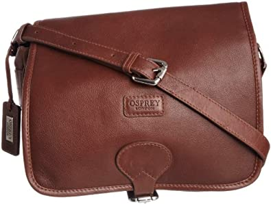 Osprey London Women's Fletcher Cross-Body Bag, Havana Brown, S