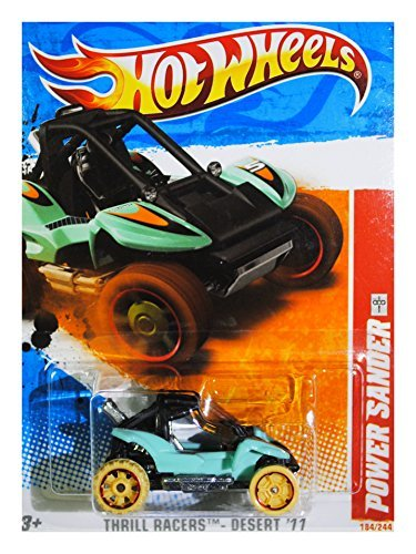 Hot Wheels Thrill Racers Desert '11 2011 4/6 Power Sander 184/244 - 1