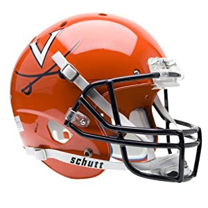 Brand New Virginia Cavaliers NCAA Replica Air XP Full Size Helmet by Things for You