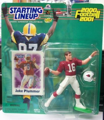 Jake Plummer Starting Lineup Collectible Figure & Card