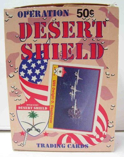 Operation Desert Shield Trading Cards Wax box - 36 count - 1