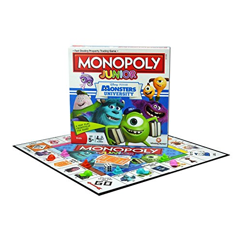 Monsters University Monopoly Junior
