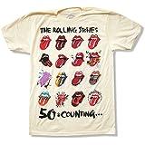 """Bravado Men's The Rolling Stones """"Tongue Evolution"""" Tour T-Shirt"""