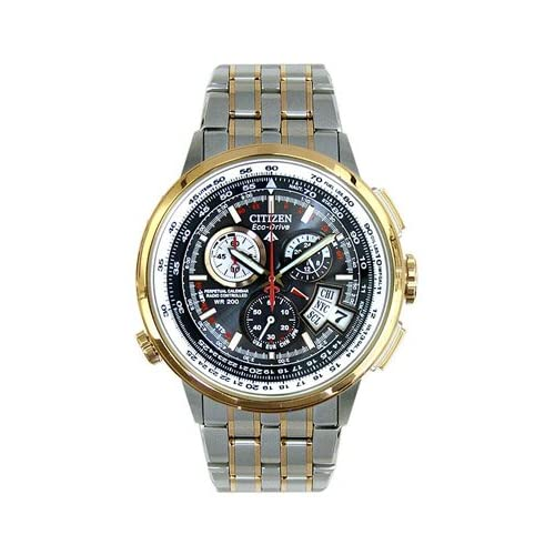 Citizen Eco Drive Atomic Chronograph Mens Watch BY0006-50E