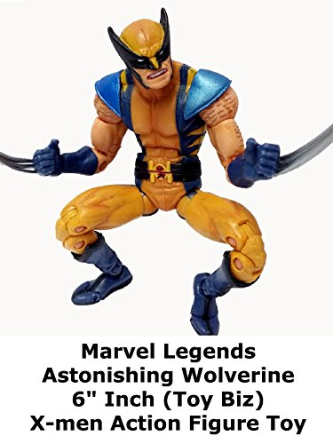 "Marvel Legends ASTONISHING WOLVERINE X-men Review 6"" inch action figure toy"