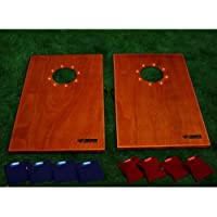 Triumph Sports LED Solid Wood Tournament Bag Toss from Triumph Sports