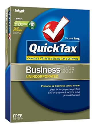 QuickTax 2007 Unincorporated [Old Version]