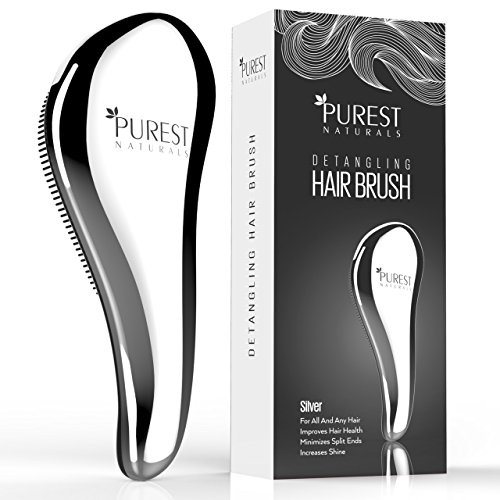 purest-naturals-chrome-detangling-hair-brush-best-detangler-wet-shower-comb-for-women-men-girls-boys