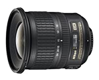 Nikon 10-24mm f/3.5-4.5G ED AF-S DX Nikkor Wide-Angle Zoom Lens for Nikon Digital SLR Cameras from Nikon