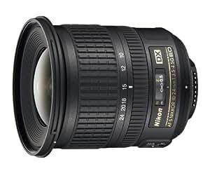 Nikon 10-24mm f/3.5-4.5G ED Auto Focus-S DX Nikkor Wide-Angle Zoom Lens for Nikon Digital SLR Cameras
