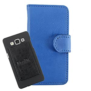 DooDa PU Leather Wallet Flip Case Cover With Card & ID Slots For LG Optimus L9 (P765) - Back Cover Not Included Peel And Paste