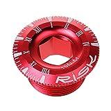 【ノーブランド品】自転車 部品 クランク アーム ネジ クランク アーム 固定用ボルト 4色2サイズ選べる - 赤, 20ミリメートル
