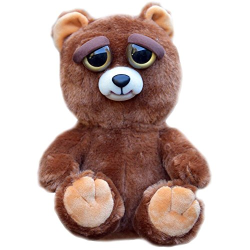 william-mark-feisty-pets-sir-growls-a-lot-adorable-plush-stuffed-bear-that-turns-feisty-with-a-squee