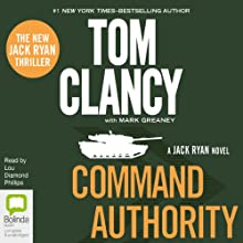 Command Authority Audiobook by Tom Clancy Narrated by Lou Diamond Phillips
