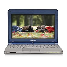 Toshiba Mini NB205-N325BL 10 1-Inch Royal Blue Netbook - 9 Hours of Battery Life Windows 7 Starter