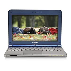 Toshiba Mini NB205-N325BL 10-Inch Netbook,1.6GHz Intel Atom N280 Processor,1GB DDR2 RAM, Drive,windows 7 starter, Blue